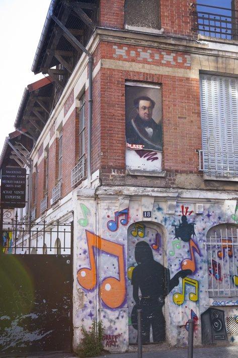 les puces de Saint Ouen, flee market