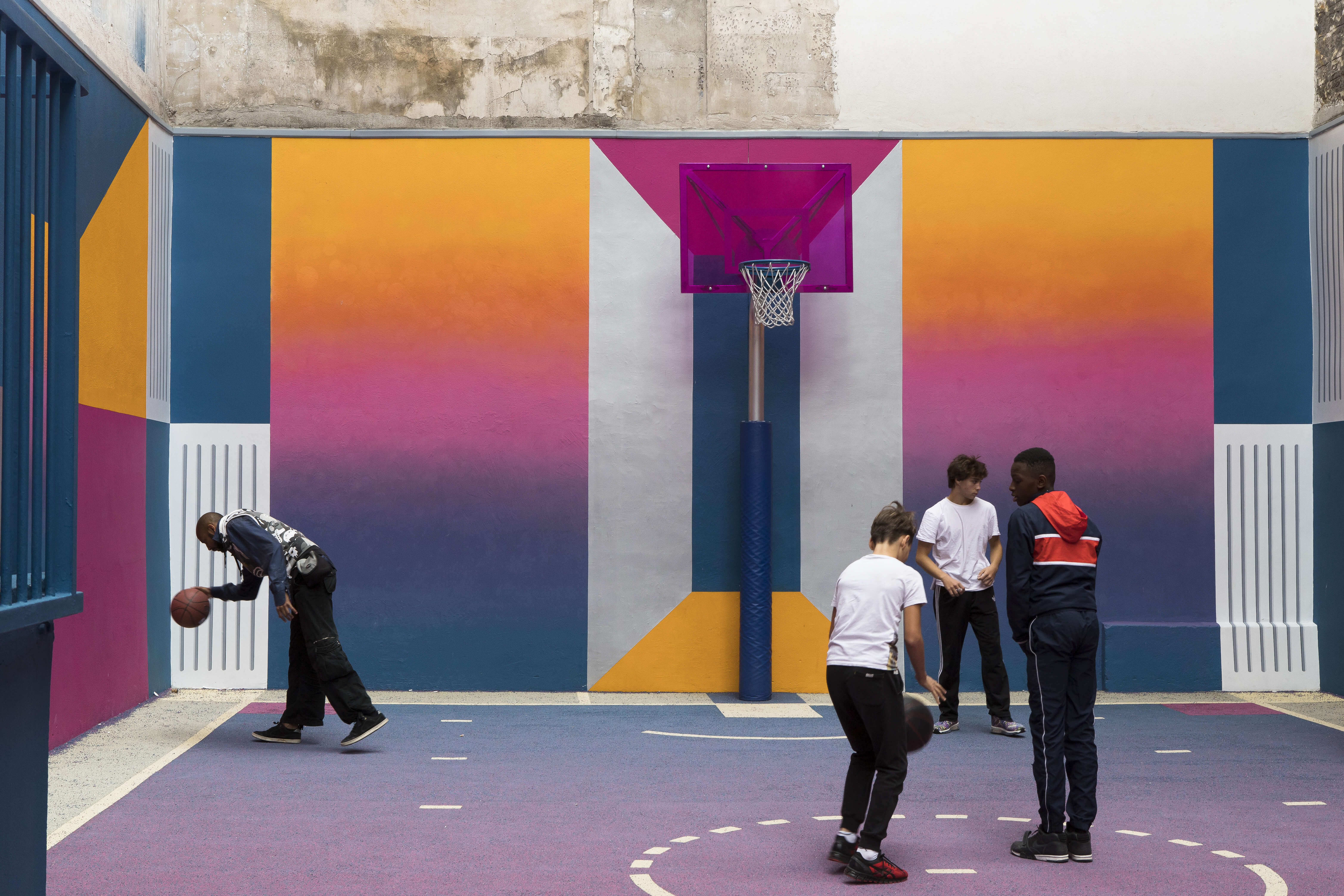 pigalle basketball court-duperre-nikelab