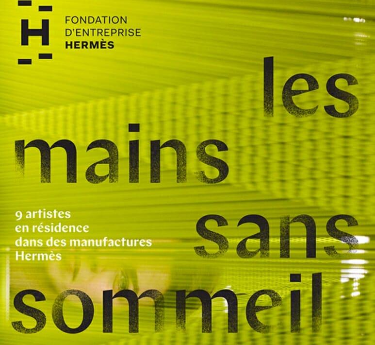 les mains sans sommeil, fondation Hermès, Palais de Tokyo