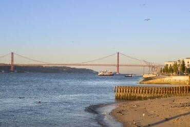 partir à Lisbonne Portugal