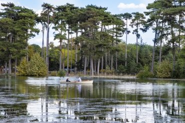 Barque lac bois de Boulogne