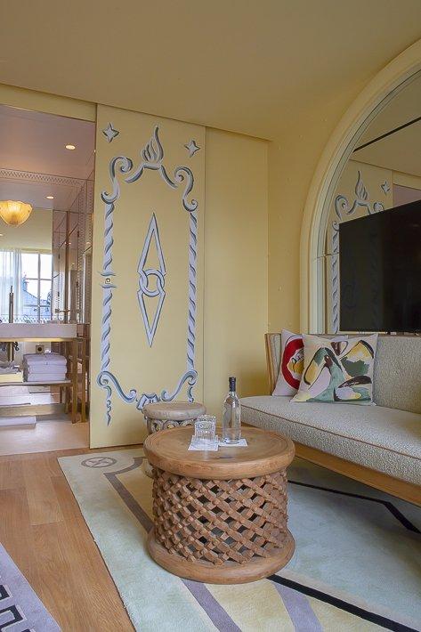 chambre luxe du 9confidentiel hotel