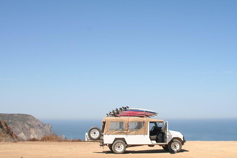vacances en France voiture plage