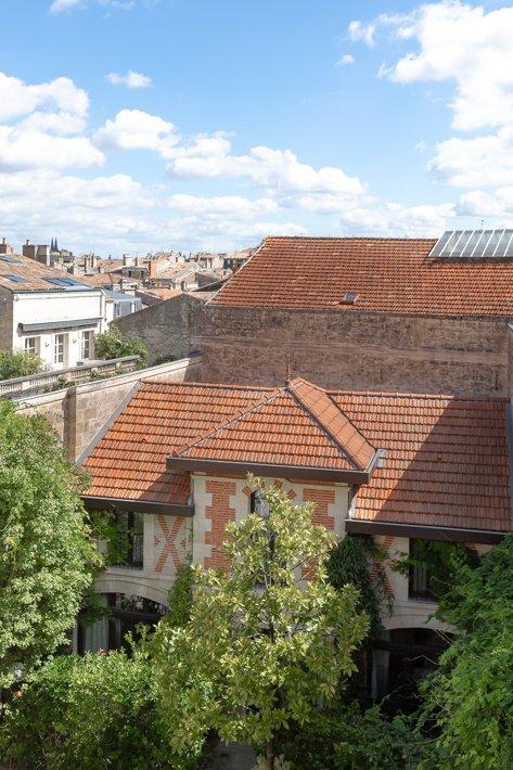 toits de maisons