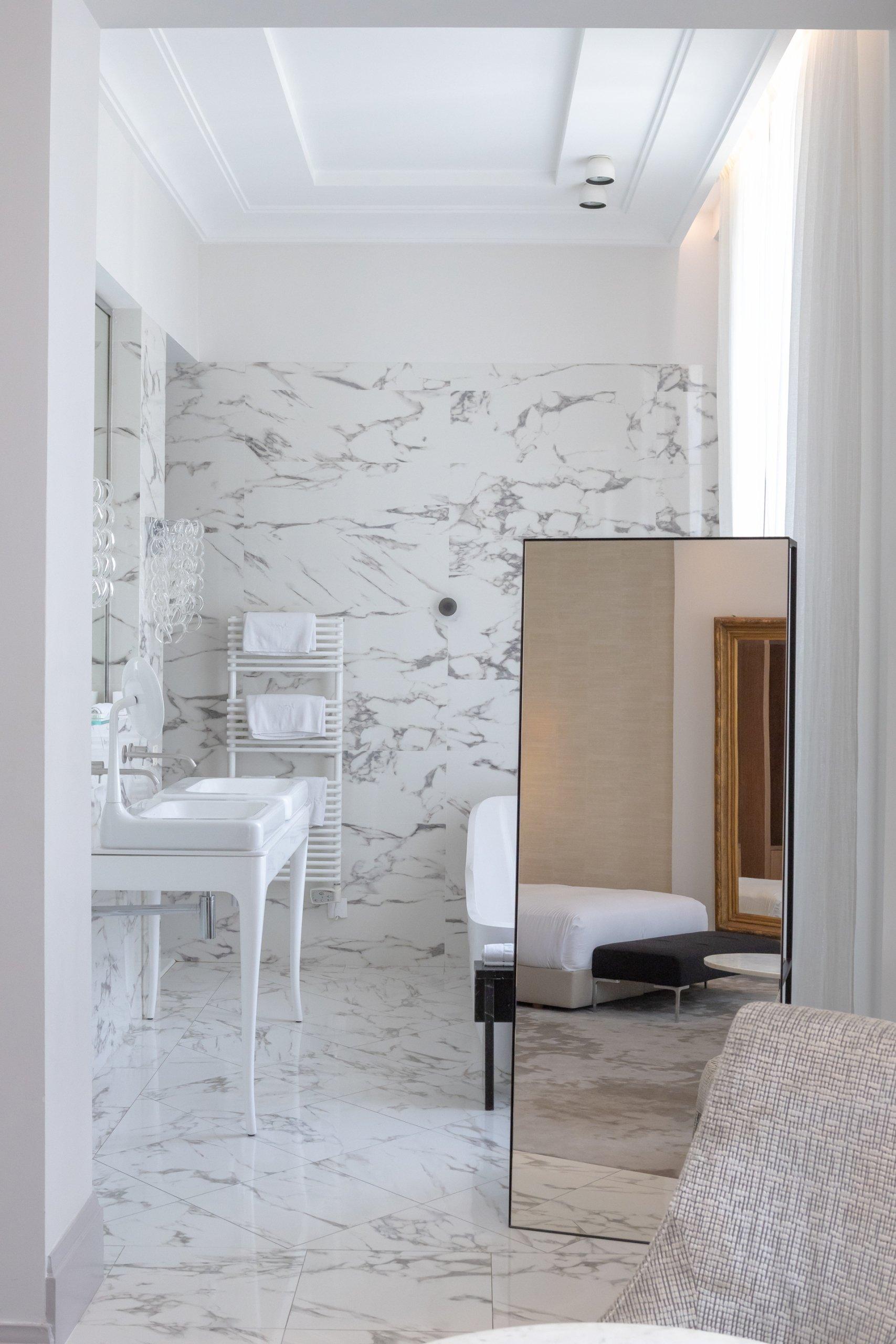 salle de bain hotel