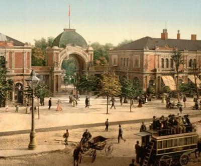 Tivoli 1900 copenhague
